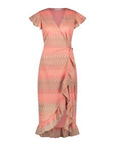 Freebird Rosy Midi dames jurk casual pink