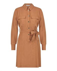 Freebird SELMA dames jurk casual bruin