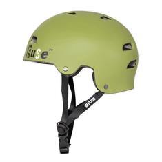 Fuse Alpha bmx/skate helm donkergroen