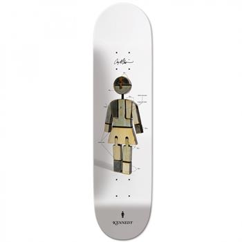 Girl skateboards Girl Kennedy og 8.25 Skateboard ZWART