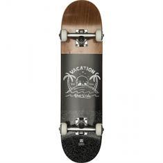 Globe Por vida mid 7.625 skateboard zwart