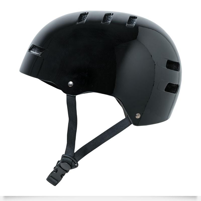 4ce8419a5bf Globe Slant freeride bmx/skate helm zwart van bescherming