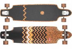 globe Spearpoint longboard bruin