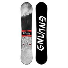 GNU Asym T2B Wide all mountain snowboard rood