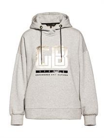 Goldbergh Fiza dames sweater midden grijs