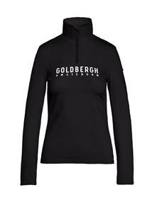Goldbergh Mandy dames ski pulli met rits zwart