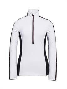 Goldbergh Melita dames ski pulli met rits wit