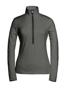 Goldbergh Serena dames ski pulli met rits khaki