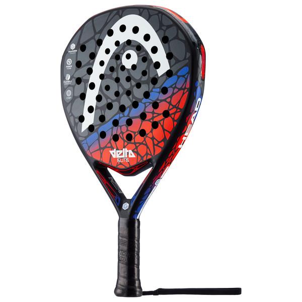 Head Graphene Touch Delta sr. padel racket zwart dessin