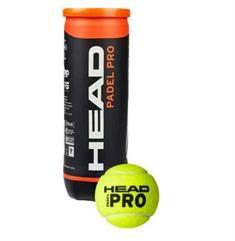 Head Padel Pro 3 Ball padel ballen geel