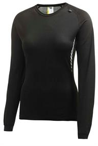 Helly Hansen 48581.990  da dames thermoshirt zwart