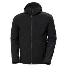 Helly Hansen Paramount Hooded Softshell heren softshell zwart
