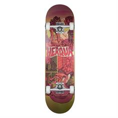 Herqua X Micha Huigen 8.0 skateboard complete rood