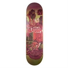 Herqua X Micha Huigen 8.87 skateboard rood