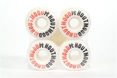Houtmood Houtmood 54mm wielen wit