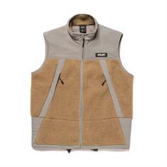 HUF Ansel Tech Vest heren bodywarmer midden grijs