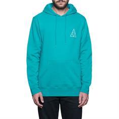 Huf Essential Hoodie heren sweater aqua-azur