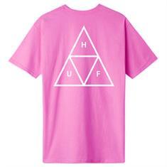 HUF Essential TT Tee heren shirt koraal