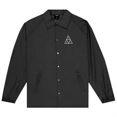 HUF Essentials Coach Jacket heren skate zomerjas zwart