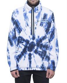 HUF Kumo Zip Jacket heren skate zomerjas blue