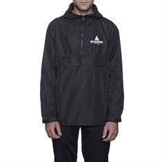 HUF Peak anorak jacket heren skate zomerjas zwart