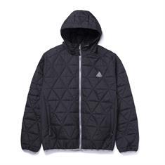 HUF Polygon Quilted Jacket heren skate zomerjas zwart