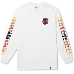 Huf Possible LS heren sweater wit