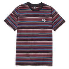 HUF Topanga S/S Knit heren shirt zwart