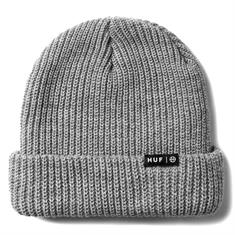 HUF Usual Beanie muts skate/snow midden grijs