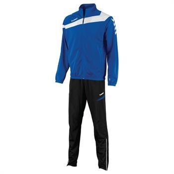 Hummel Polyester Suit Elite Junior trainingspak kobalt