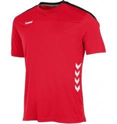 Hummel Valencia heren voetbalshirt rood