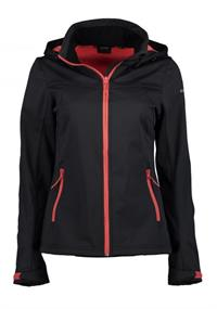 Ice Peak Boise dames softshell zwart