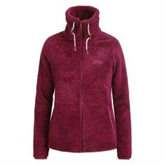 Ice Peak Colony dames fleece bordeau