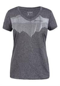 Ice peak Sumitra DamesOutdoor dames shirt antraciet