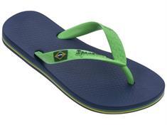 Ipanema Classic Brasil Kids jongens slippers kobalt