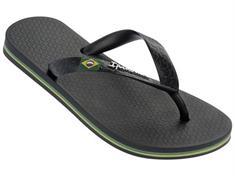Ipanema Classic Brasil kids jongens slippers zwart