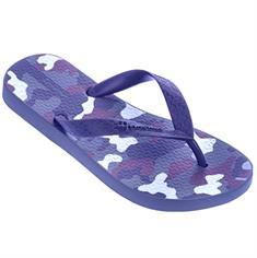 Ipanema Ipenema Classic Boys jongens slippers blauw dessin