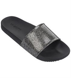 Ipanema Zaxy Snap Glitter dames slippers zwart dessin