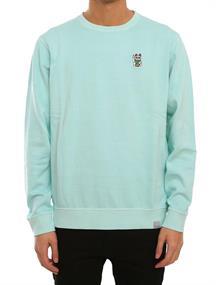 Irie daily Bey Bey Crew heren sweater mint