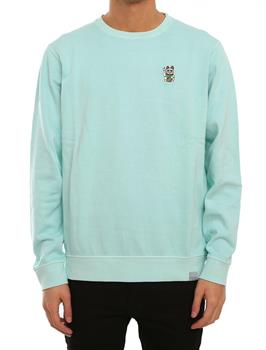 irie daily Bey Bey Crew Heren sweater mint