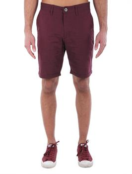 irie daily Golfer Chambray Heren short bordeau