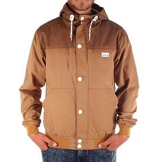 irie daily Segelprofi Jacket heren skate zomerjas lichtbruin