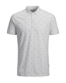 Jack & Jones Micro Polo SS heren polo wit