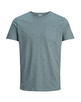 Jack & Jones Micro Tee Crew Neck Heren sportshirt antraciet