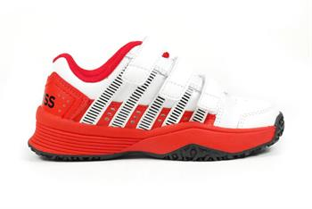 k-SWISS Court Impact Junior tennisschoenen ROOD
