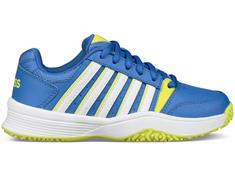 k-SWISS Court Smash JR Omni junior tennisschoenen kobalt