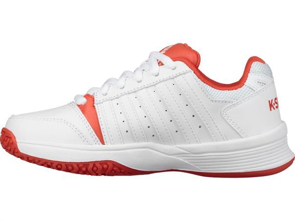 k-SWISS Court Smash JR Omni meisjes tennisschoenen wit