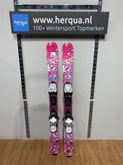 K2 116-2839 Luv Bug kinder ski gebruikt paars