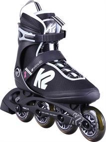 K2 Helena 80 W inline skates / skeelers zwart
