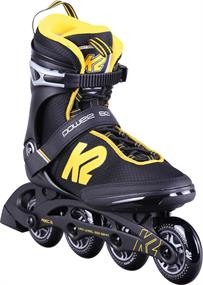 K2 Power 80 inline skates / skeelers zwart
